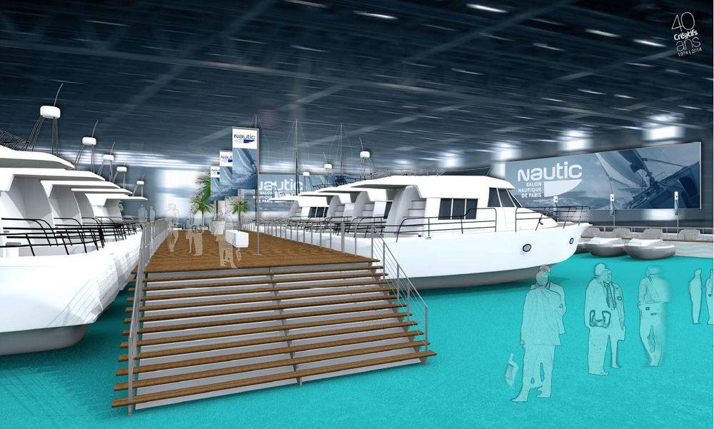 Salon nautique de paris les bateaux sont arriv s factory plaisance - Salon nautique empuriabrava ...